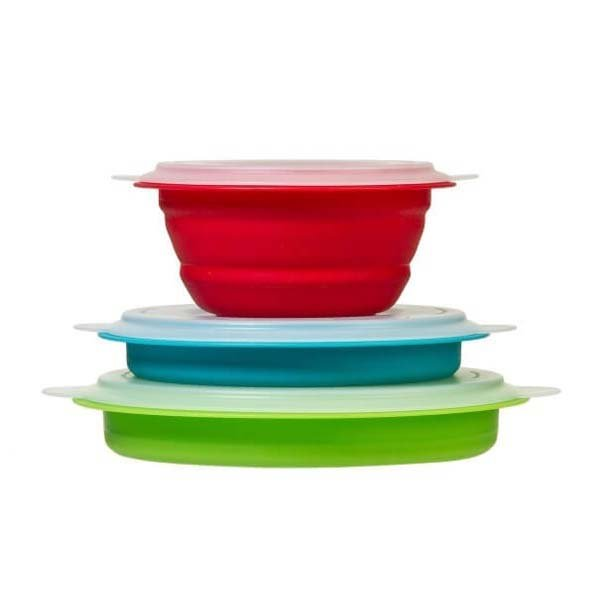 Collapsible Storage Bowl Set
