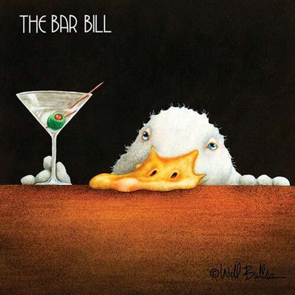 Bar Napkin Bar Bill