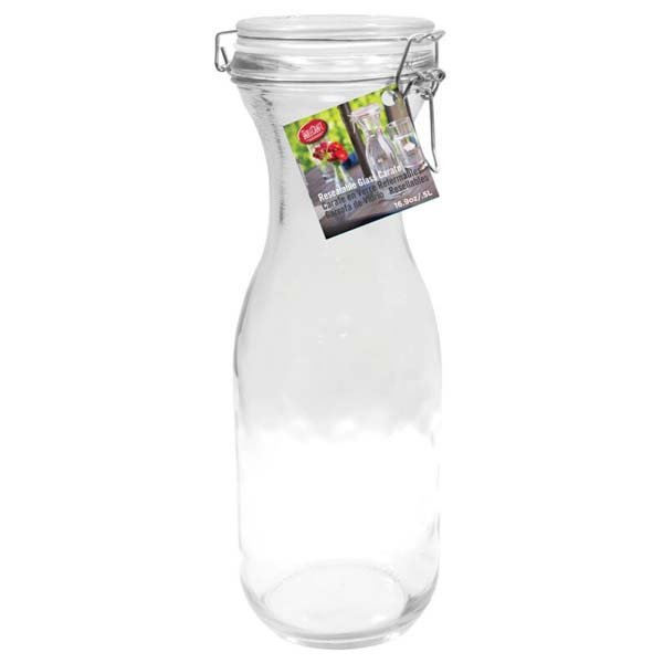 Resealable Carafe