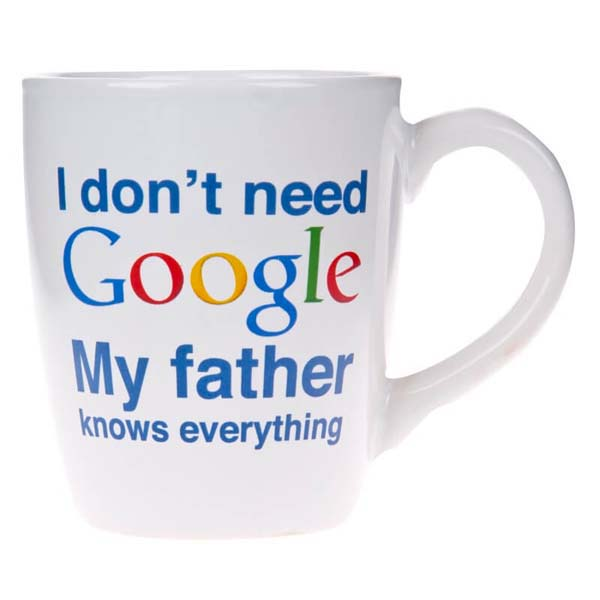 Mug My Father Google