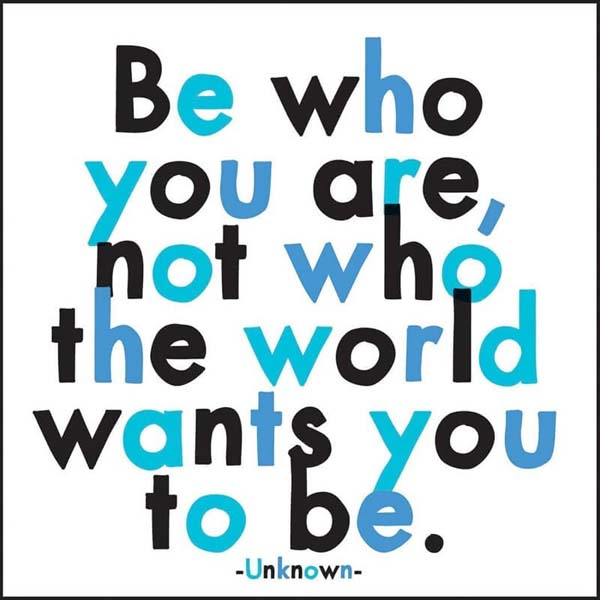 Magnet Be Who You Are