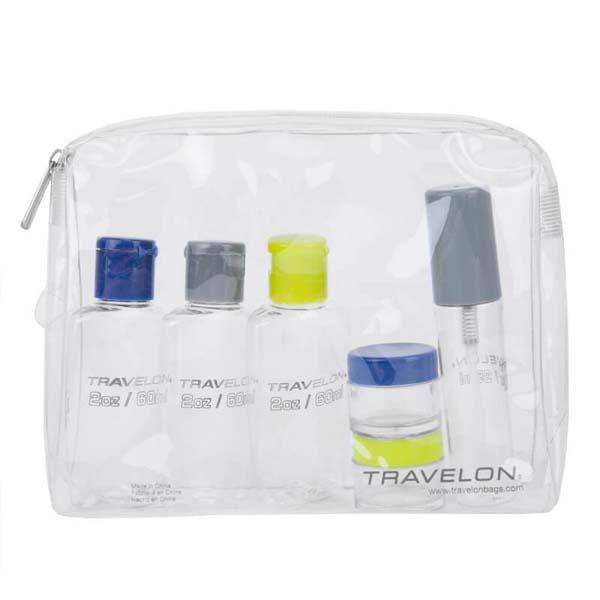 1 Qt Zip-Top Bag with Bottles
