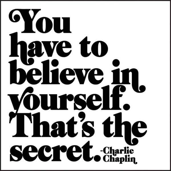 Magnet Believe in Yourself