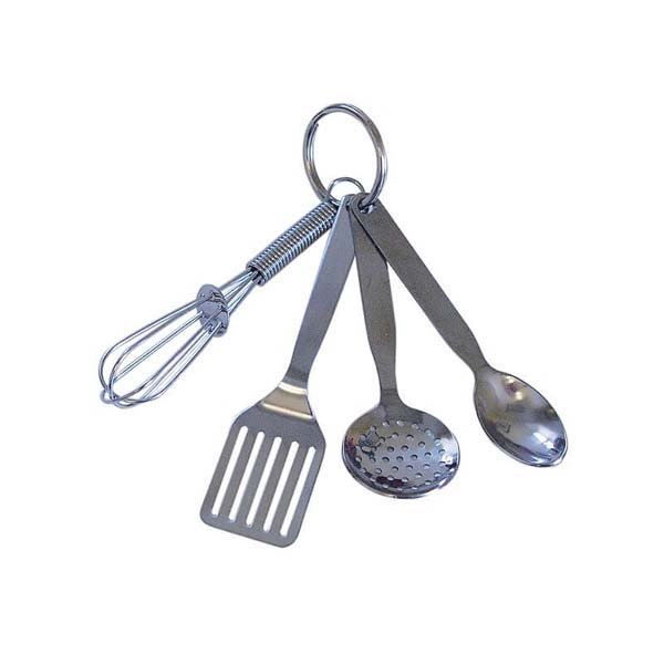 Mini Kitchen Tools Keychain