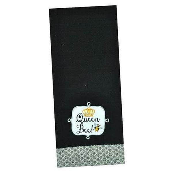 Towel Queen Bee Embroidered