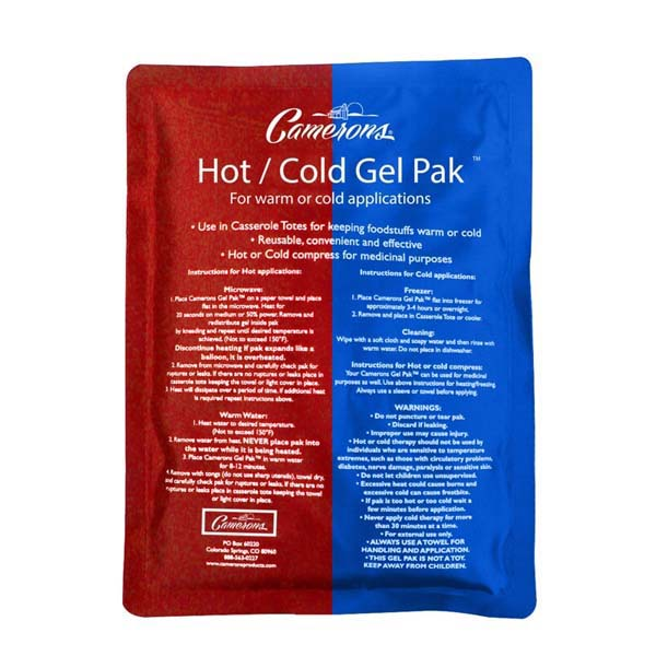 Hot & Cold Dual Use Gel Pack