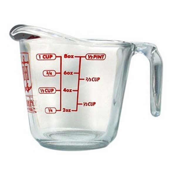 Open Handle Measuring Cup
