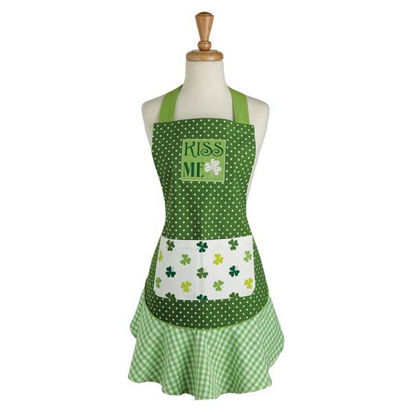 Apron Ruffled Kiss Me