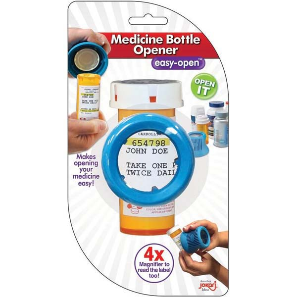 Magnifying Pill Bottle Opener