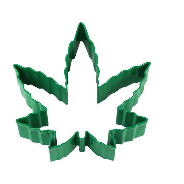 Cookie Cutter Hemp Leaf