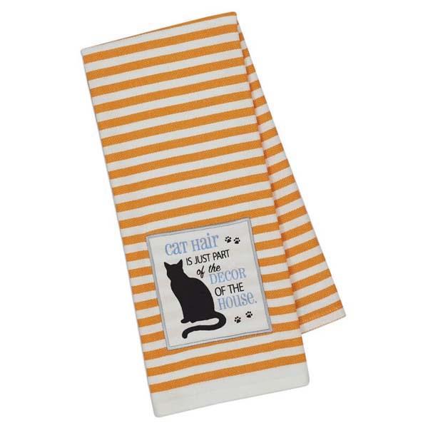 Towel Cat Hair Embellished