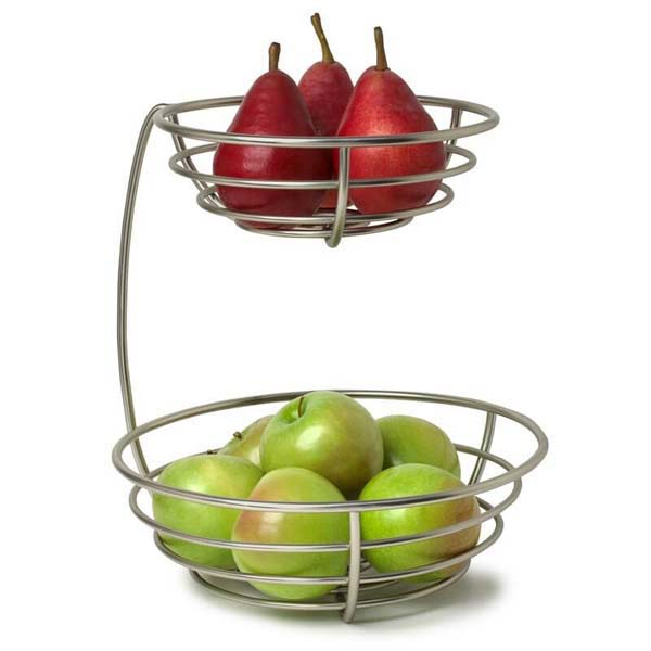 Euro 2 Tier Fruit Bowl