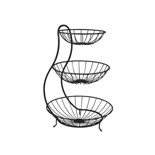 Yumi Arched 3-Tier Fruit Bowl