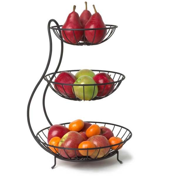 Yumi Arched 3 Tier Fruit Bowl