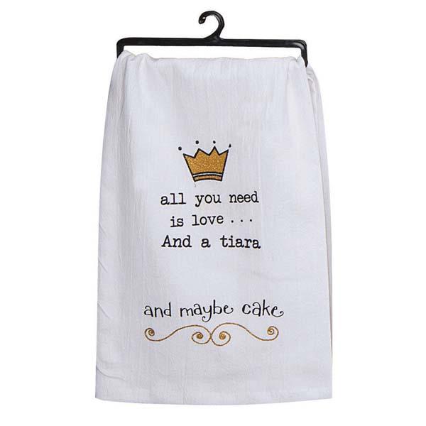 Towel All You Need A Tiara