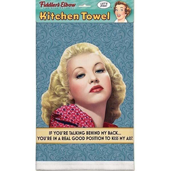 Towel If You're Talking Behind