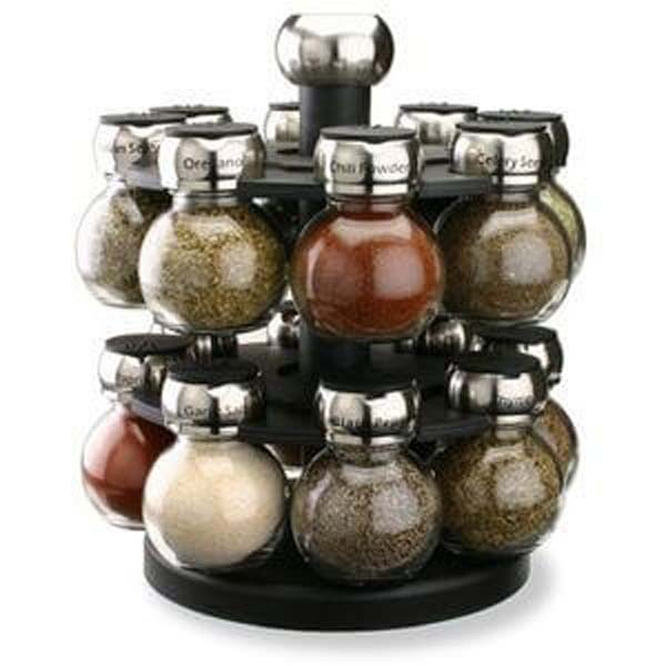 16 Jar Orbit Spice Rack