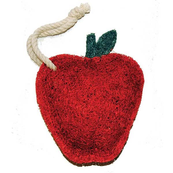 Scrubber Red Apple