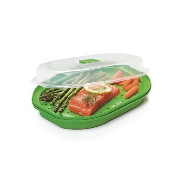 Microwave Fish, Veggie Steamer