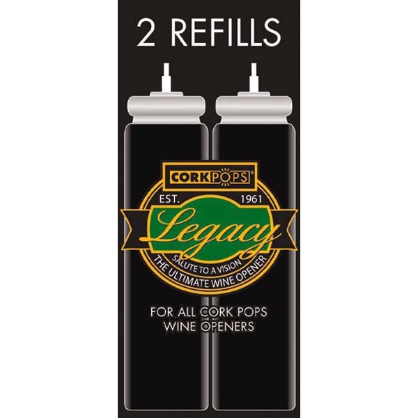 Cork Pop Refill Cartridges