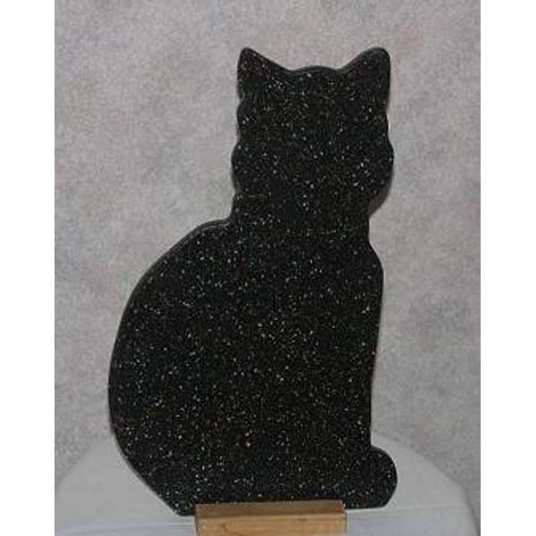 Black Cat Hand Cut Board