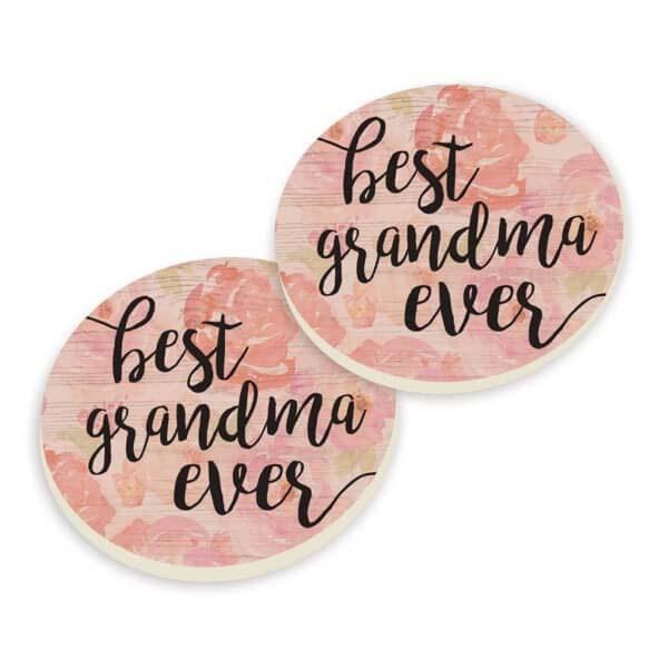 Car Coasters - Best Grandma