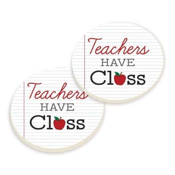Car Coasters - Teacher