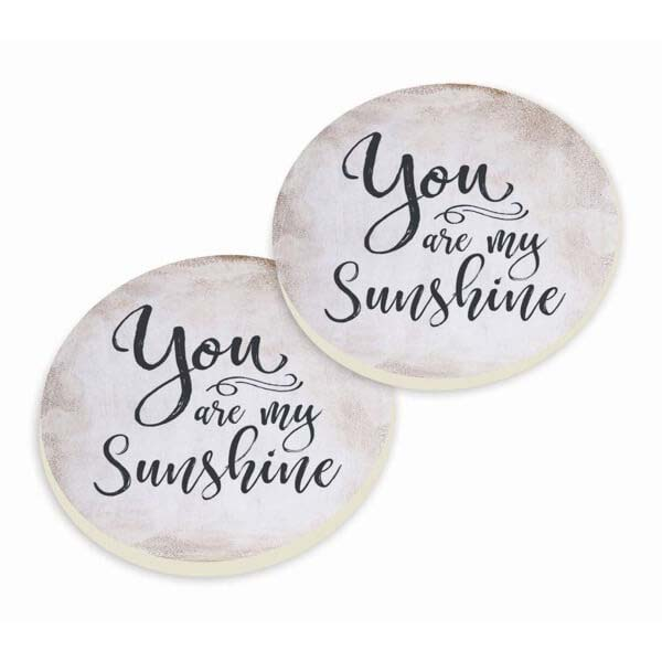 Car Coasters -You are Sunshine
