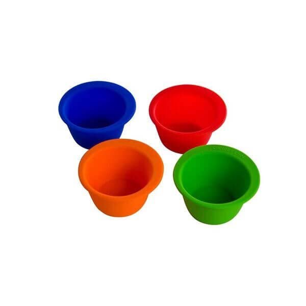 4 Pc Silicone Pinch Bowl Set