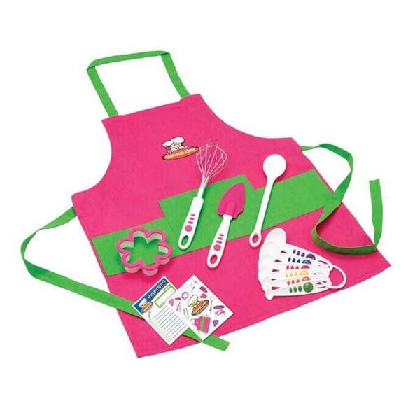Pink & Green Chef's Kit