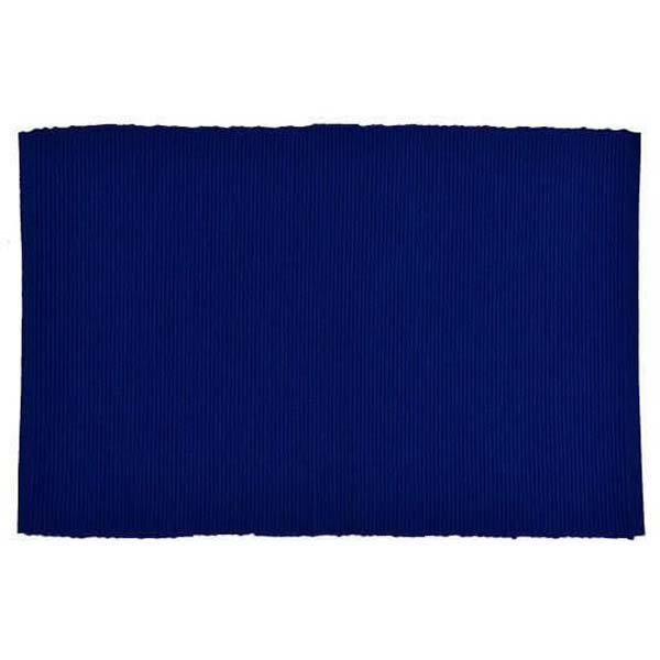 Placemat Nautical Blue Ribbed