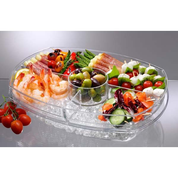 Flip-Lid Appetizers On Ice