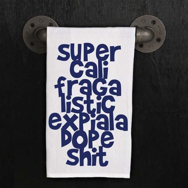Towel Supercalifragalisticdope