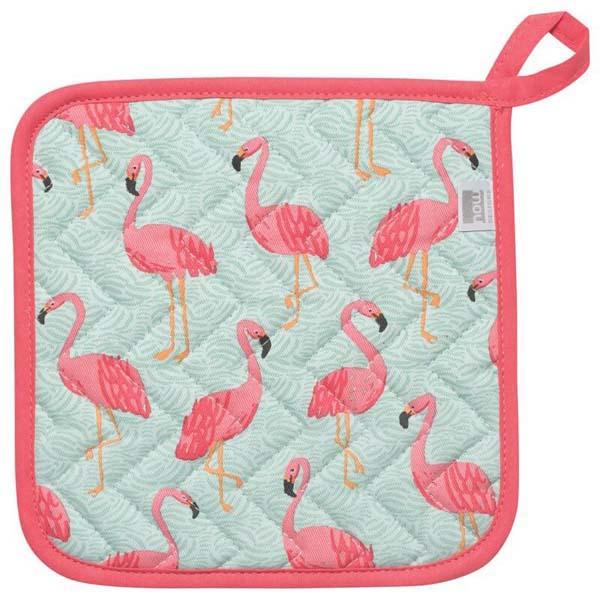 Pot Holder Flamingos