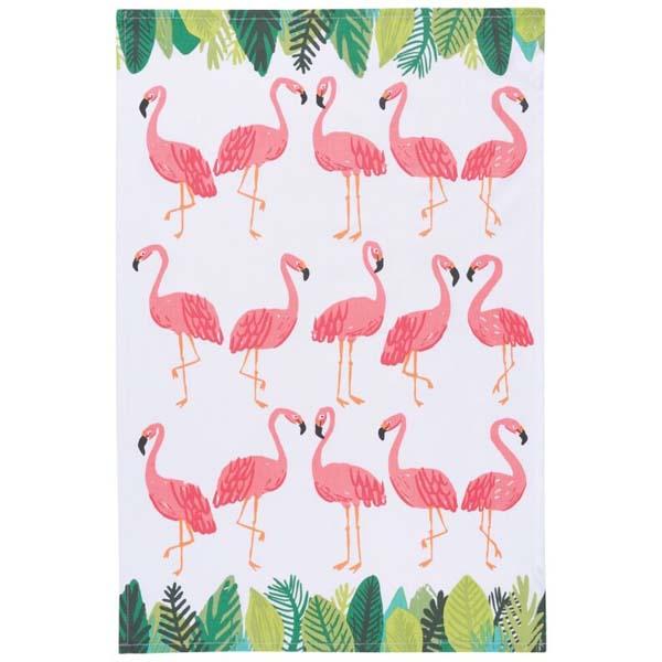 Kitchen Towel Flamingos
