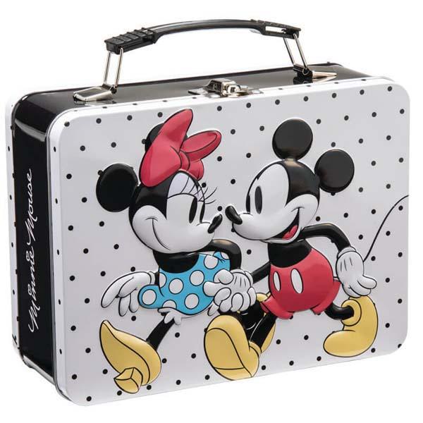 Mickey & Minnie Tote Tin
