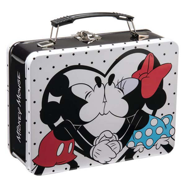 Mickey & Minnie Tote Tin