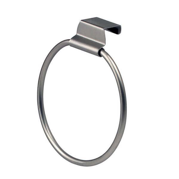 Over Cabinet Towel Ring
