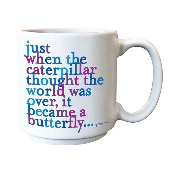 Espresso Caterpillar Butterfly