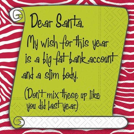 Bar Napkin My Wish For Year