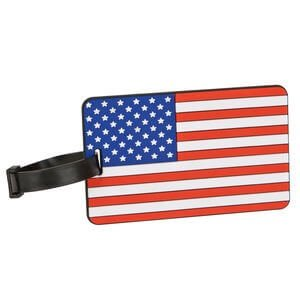 Luggage Tag American Flag