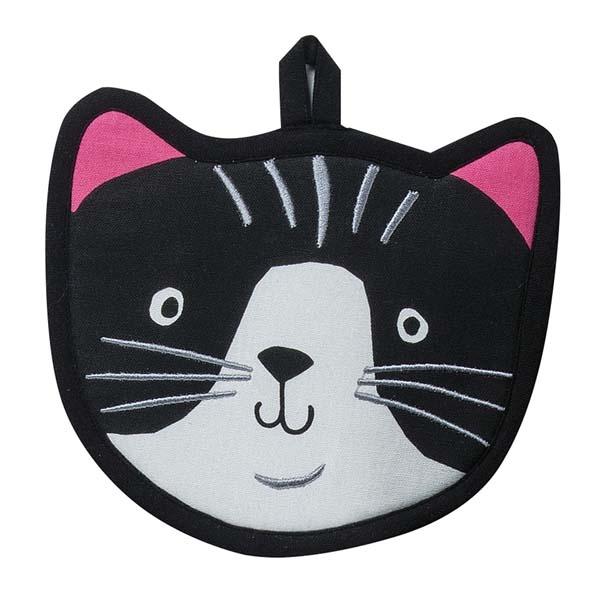 Pot Holder Crazy Cat