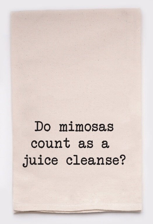 Towel Do Mimosa's Count