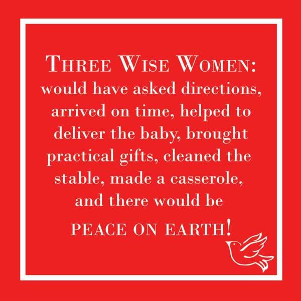 Bar Napkin 3 Wise MenWomen
