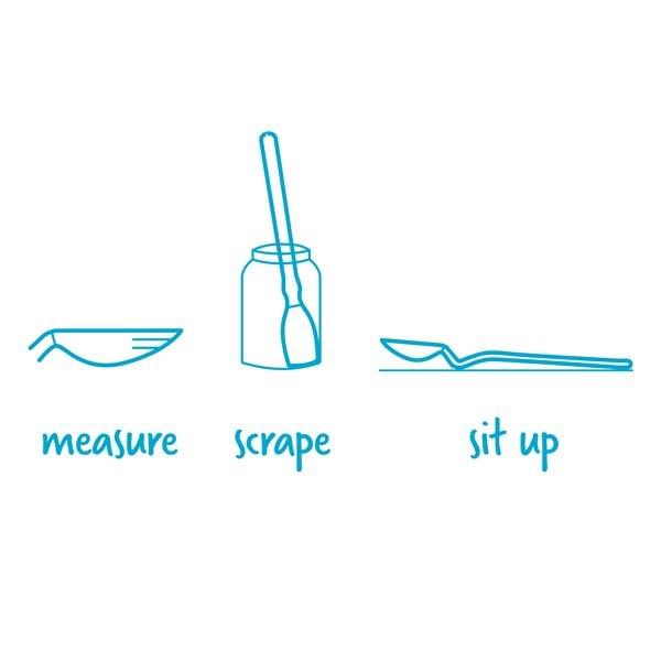 Mini Supoon Scraping Spoon