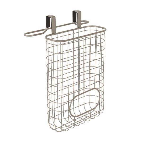 Grid Towel Bar & Bag Storage