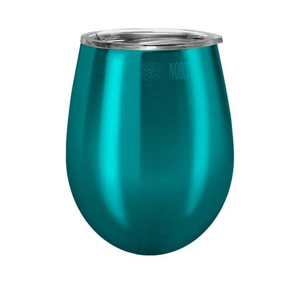 Wine Glass Stemless & Lid