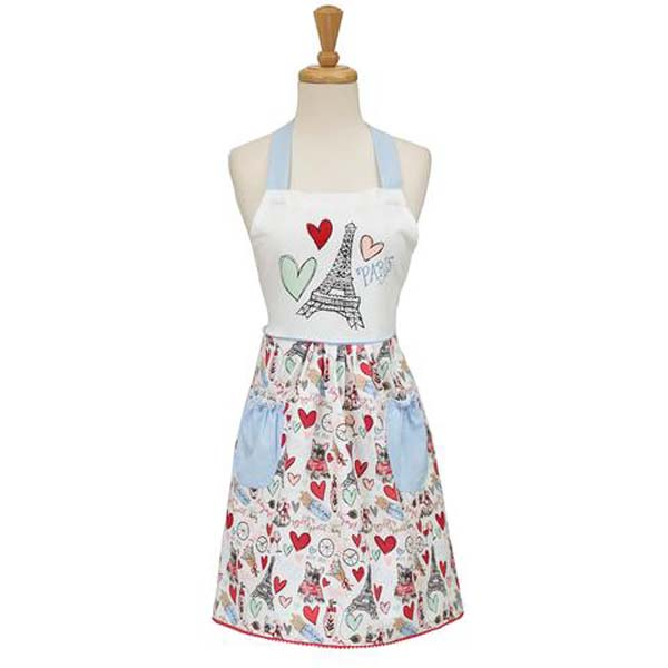 I Love Paris Kitchen Apron