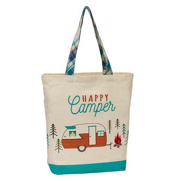 Tote Happy Camper