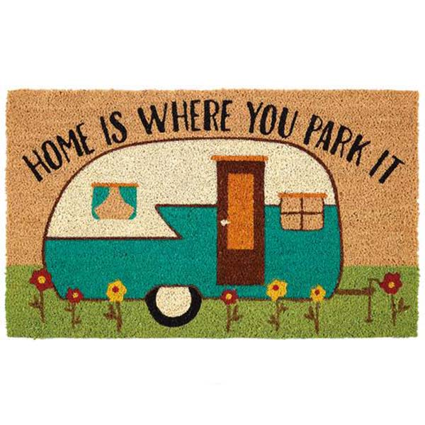 Doormat Happy Camper